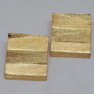 Opera unica di Fernando Betto interamente realizzata a mano Argento placcato oro giallo